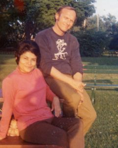 John and Evie Permesang in the late 1960s at Kollen Park
