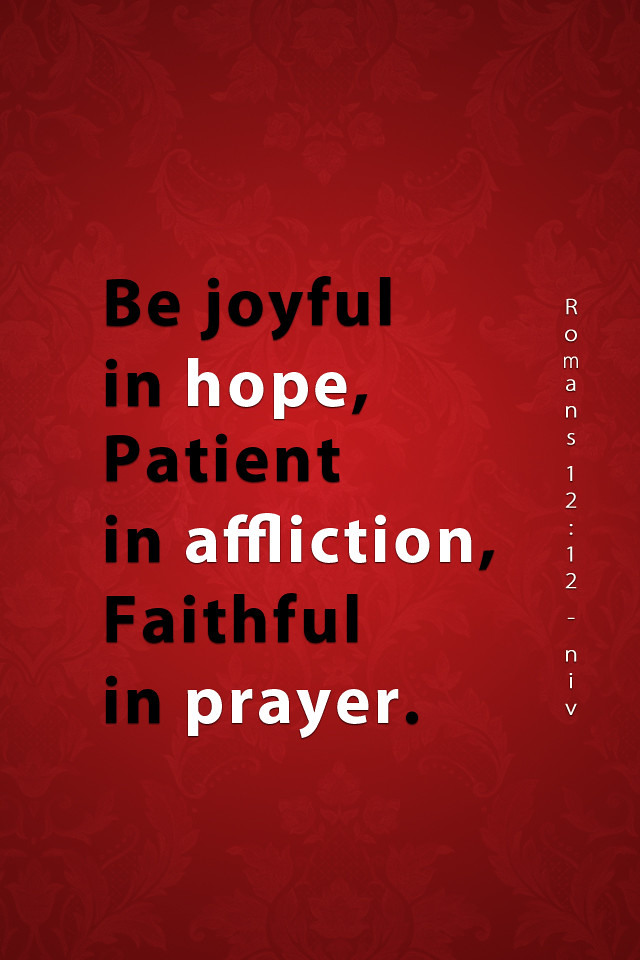 Romans 12:!2