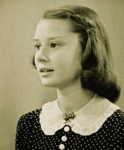 Audrey Hepburn at 14 (1943)