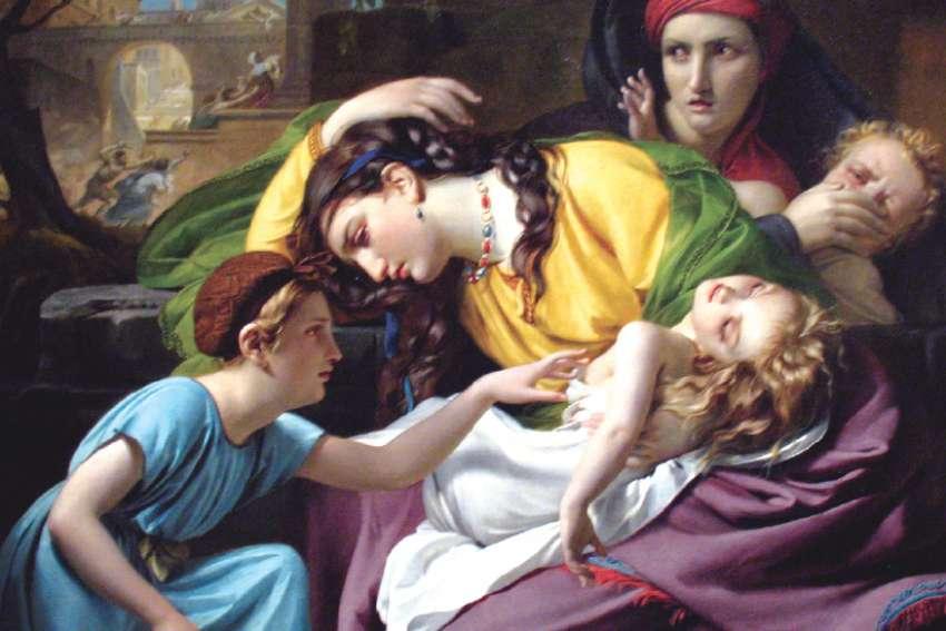 1824 painting, The Massacre of the Innocents by François-Joseph Navez.